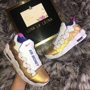 NWT Nike Air More Money (GS) Sneakers, AH5215101
